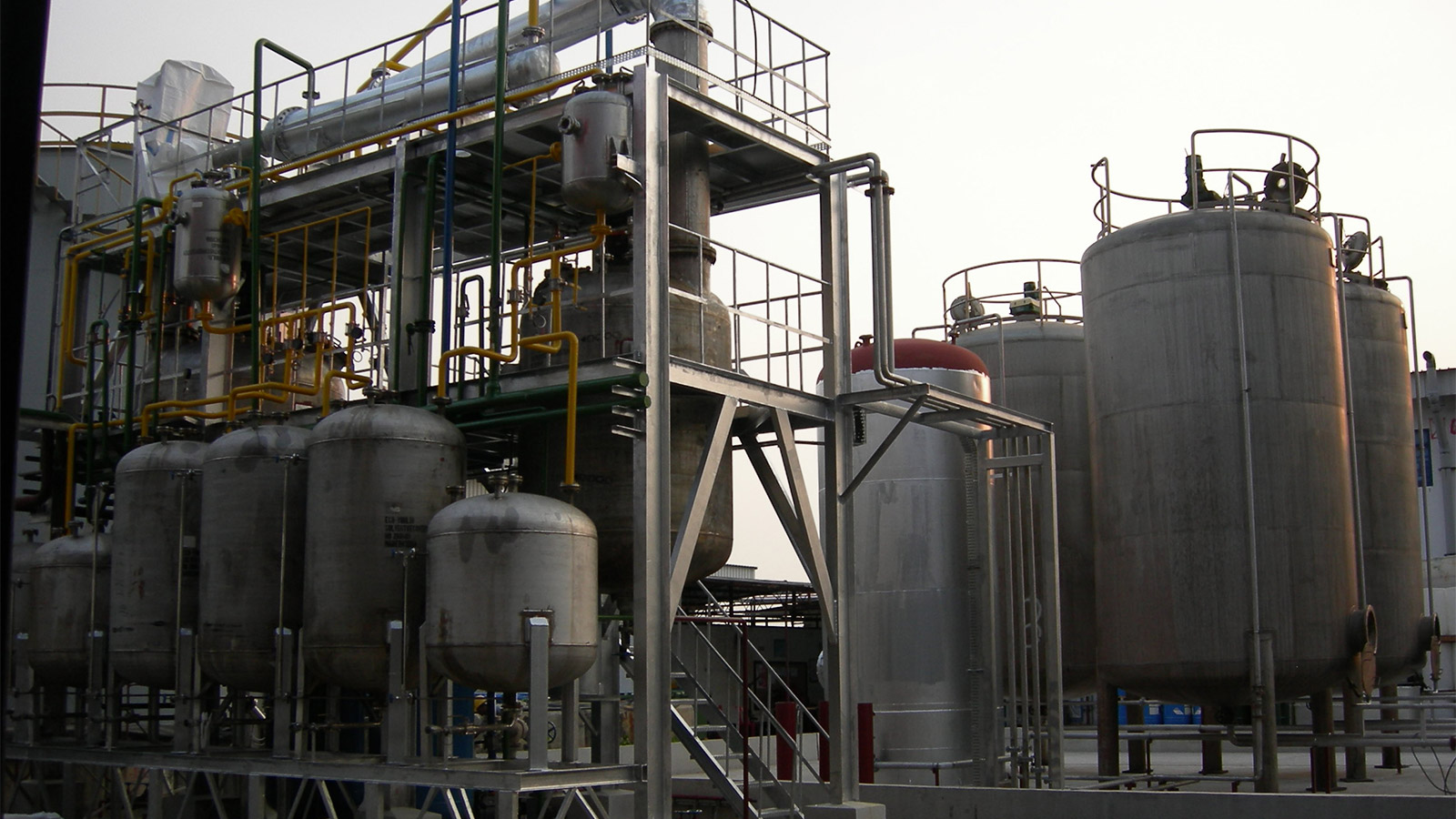 Oil & Solvent recovery facility